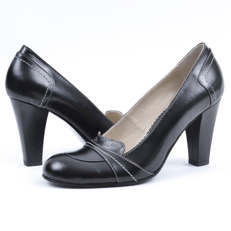 Pantofi din Piele Naturala Adele, preturi, ieftine