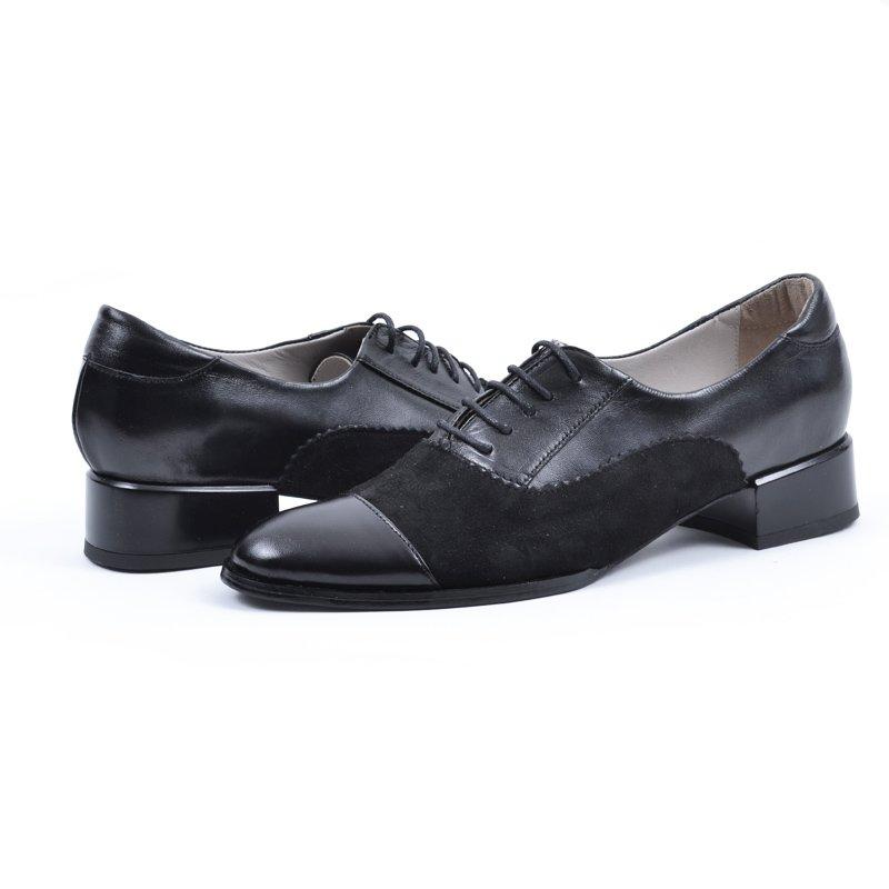 Pantofi din Piele Naturala Edith, preturi, ieftine