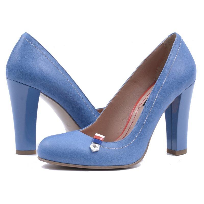 Pantofi Piele Naturala Blue Sky, preturi, ieftine