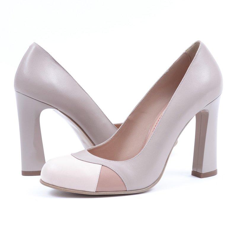 Pantofi Piele Naturala Simetry, preturi, ieftine