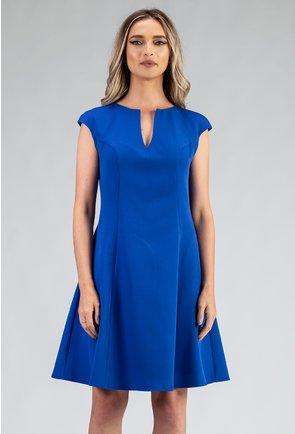 Rochie clos nuanta albastru electric