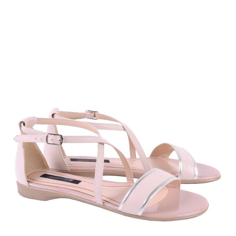 Sandale fara toc din piele naturala Soft