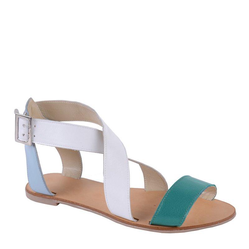 Sandale fara toc piele naturala New York
