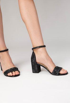 calitate fiabilă îmbrăcăminte sport de performanță 100% de înaltă calitate Sandale cu toc, Marime 35