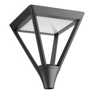 LAMPA STRADALA LED XTOWN  PATRAT 1X45W IP65 4000K GRI INCHIS IP65 ARELUX
