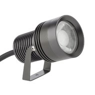 PROIECTOR LED XDOT 12W RGBW COB LED 30GRD IP67 GRI INCHIS ARELUX