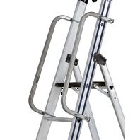 Balustrada scari din aluminiu