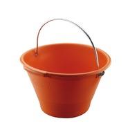 Găleată din plastic portocalie