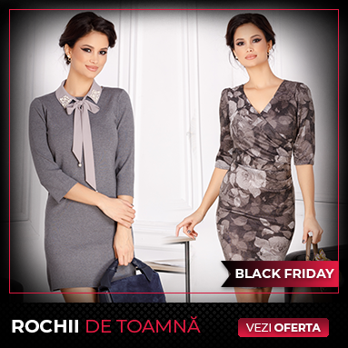 Black Friday - Rochii de toamna