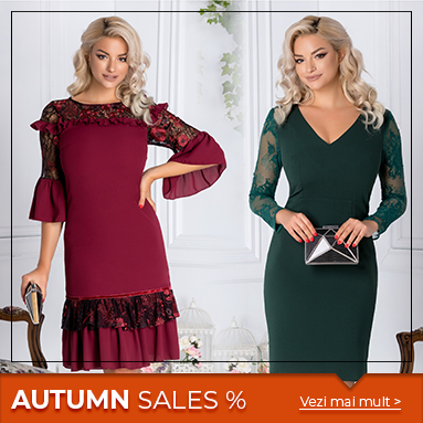 Autumn Sales 28 Septembrie 2018