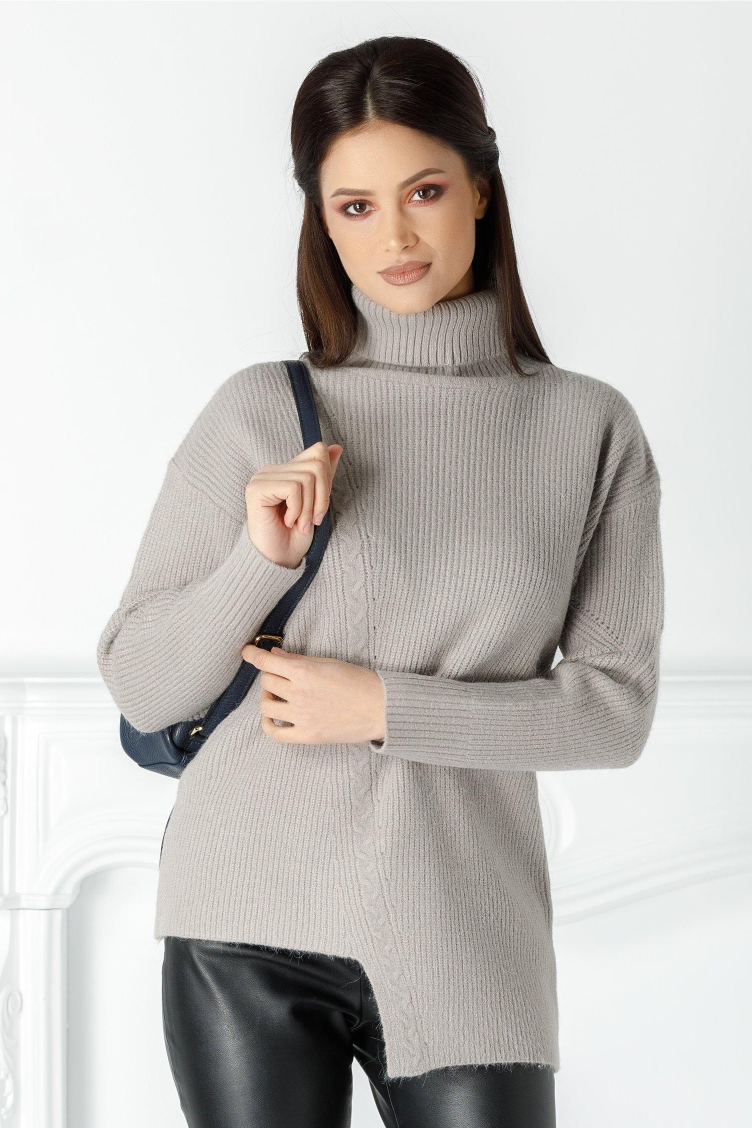 Bluza Accola gri asimetrica