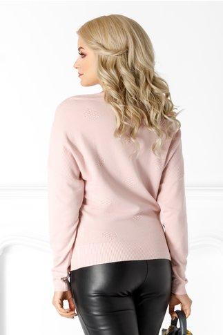 Bluza Aziza roz lejera