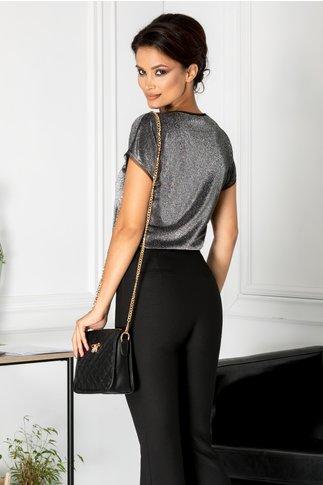 Bluza Brise eleganta cu fir argintiu