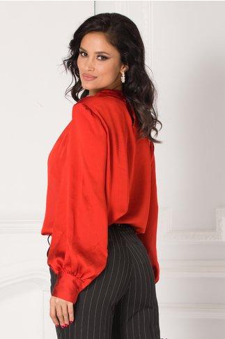 Bluza Carrie caramizie eleganta
