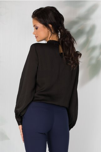 Bluza Carrie neagra eleganta