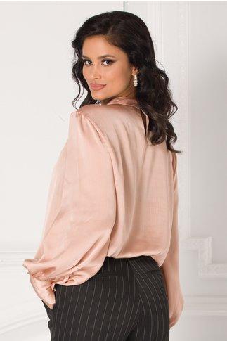 Bluza Carrie roz pudrat eleganta