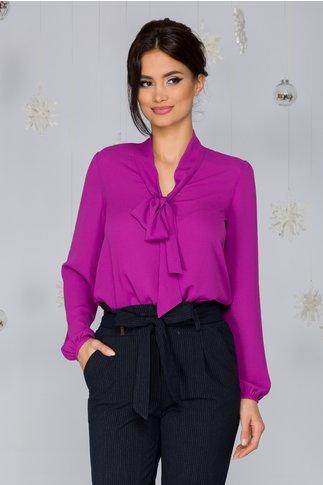 Bluza Casia mov eleganta