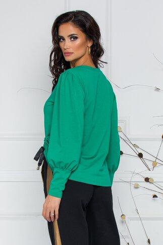 Bluza casual verde LaDonna by Catalin Botezatu