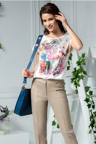 Bluza Greta de zi cu imprimeu floral