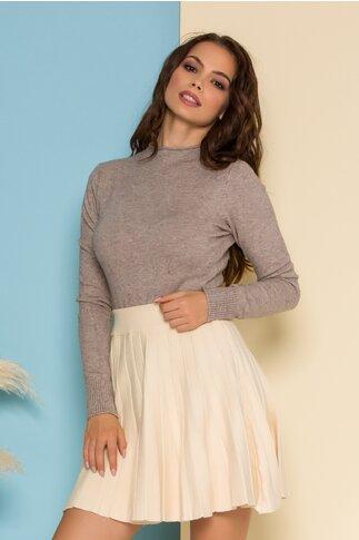 Bluza Ioana tricotata beige