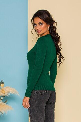 Bluza Ioana tricotata verde