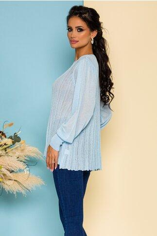 Bluza Maria tricotata bleu