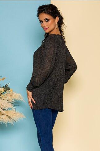 Bluza Maria tricotata neagra
