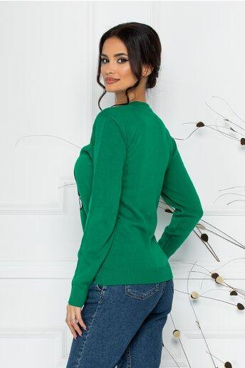 Bluza Minnie in Love verde