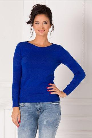Bluza Miruna albastra cu dungi