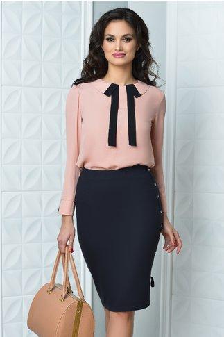 Bluza Moze Erica roz praf eleganta