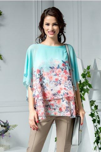 Bluza Nico delicata de vara cu imprimeu floral