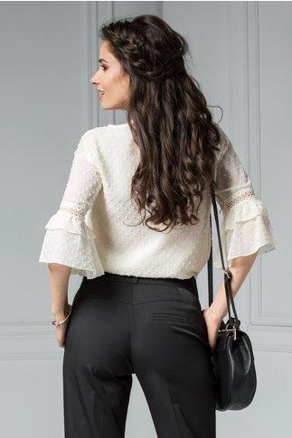 Bluza Paulina eleganta cu aplicatii si volanase