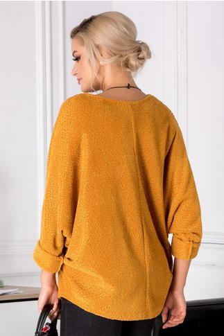 Bluza Twinkle galben mustar lejera