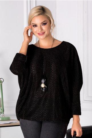 Bluza Twinkle neagra lejera