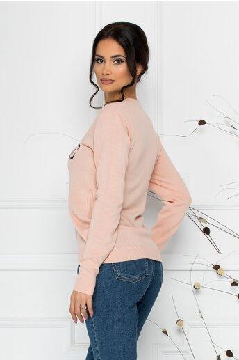 Bluza Vogue roz cu imprimeu Disney