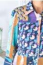 Camasa Marga cu imprimeu multicolor