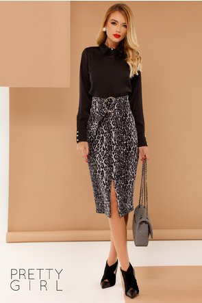 Camasa Mona neagra eleganta