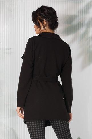 Cardigan elegant negru