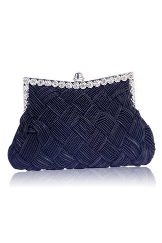 Clutch navy Crystal