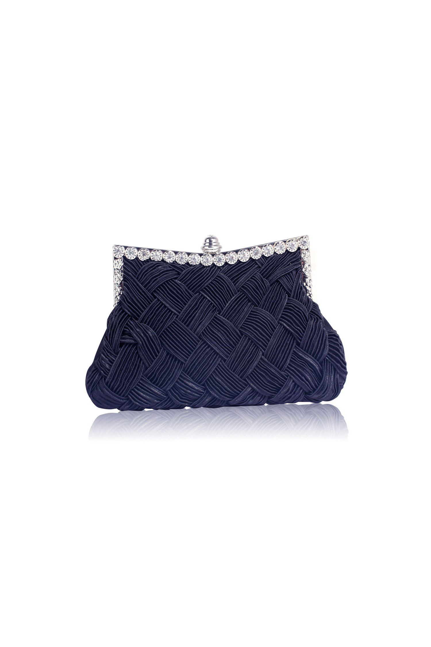 Clutch navy Crystal thumbnail