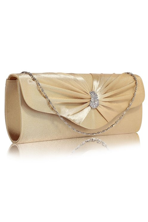 Clutch Sparkly nude