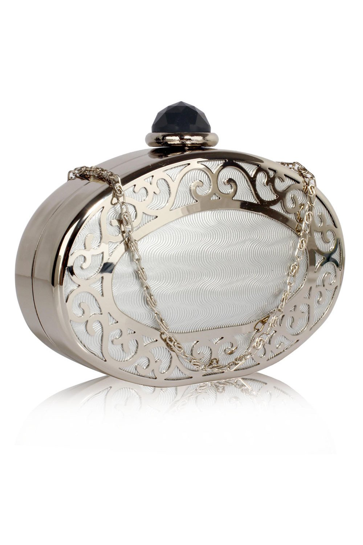 Clutch Vanida Argintiu