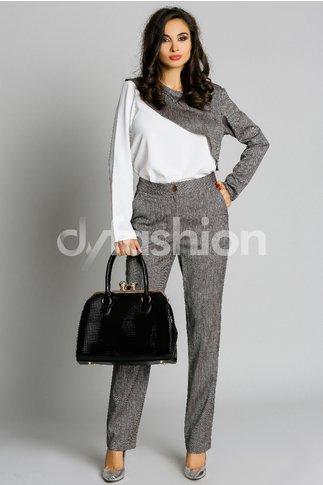 Compleu Alexa Bluza Asimetrica Pantalon Elegant