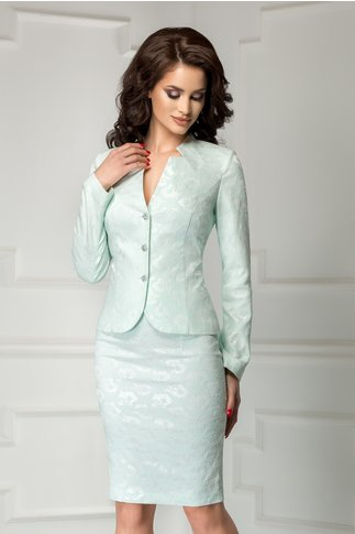 Compleu Leonard Collection menta elegant de ocazie