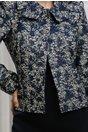 Compleu Medea bleumarin rochie sacou