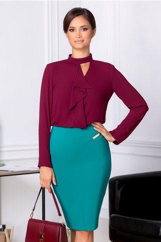 Fusta LaDonna Misty office verde