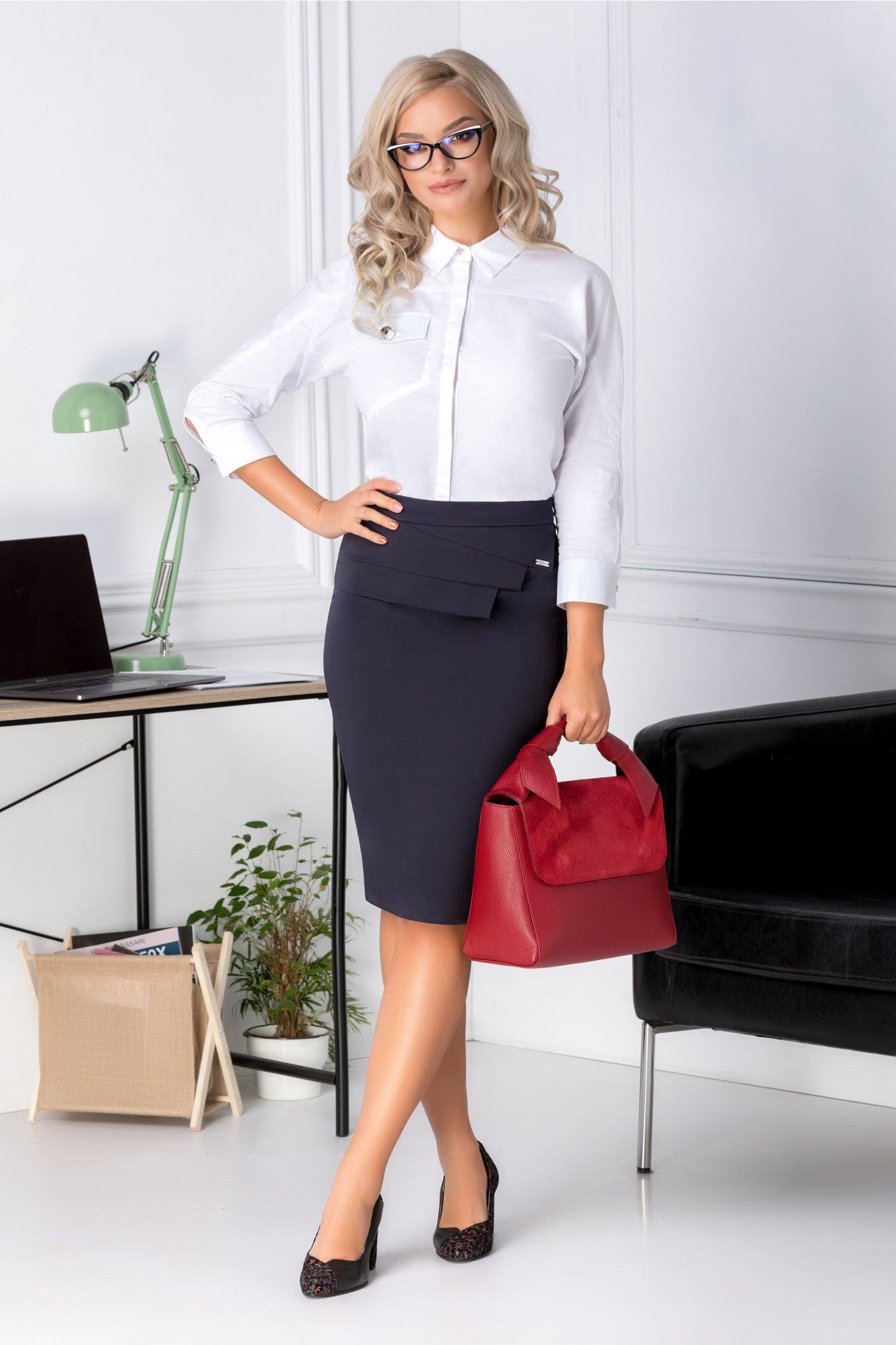 Fusta Olivia bleumarin office