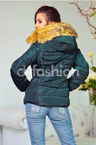 Geaca Casilda Verde Inchis de Iarna