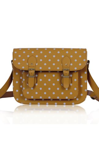 Geanta Spotty nude casual