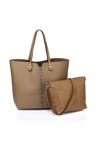 Geanta True nude casual